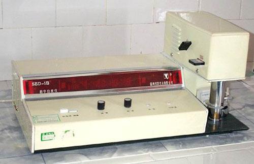 SBD-1型数字白度仪