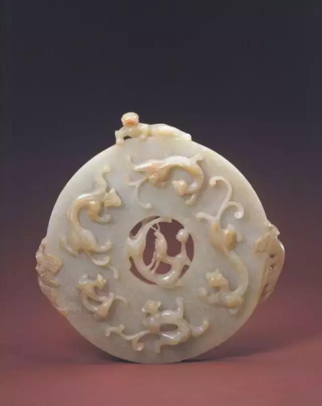 【玉九螭璧】明,清宫旧藏(故宫博物院藏品)
