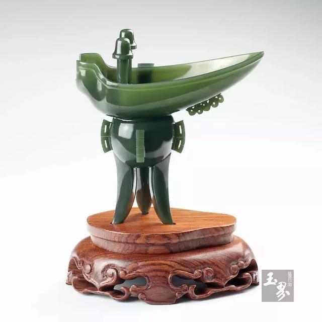 青玉器皿,一种深邃的低调